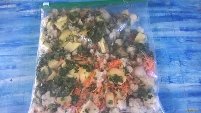 Рецепт Замороженная смесь Овощной суп рецепт с фото