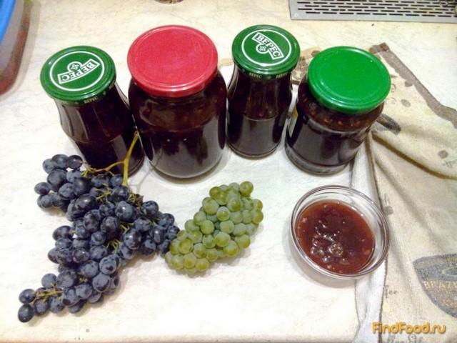 Рецепт Джем из винограда рецепт с фото