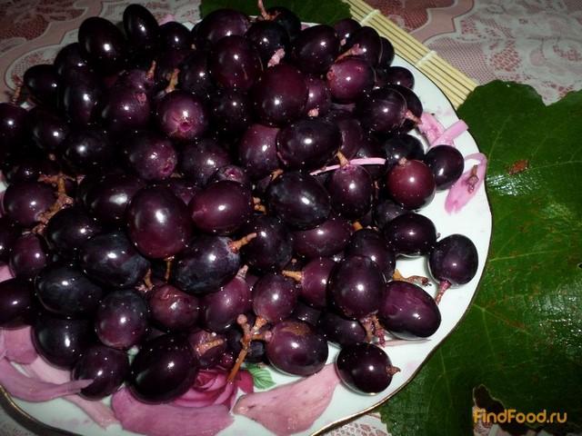 Рецепт Моченый виноград с хреном рецепт с фото
