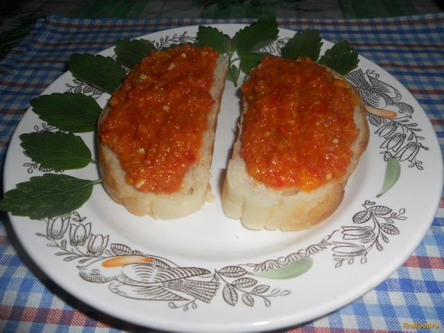 Рецепт Острая приправа на зиму рецепт с фото