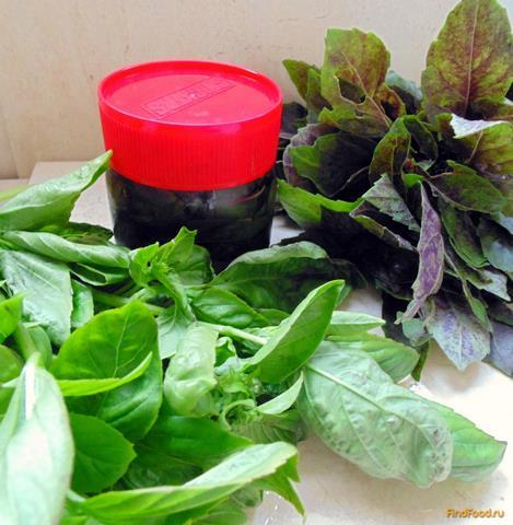 Рецепт Пряные травы в масле на зиму рецепт с фото
