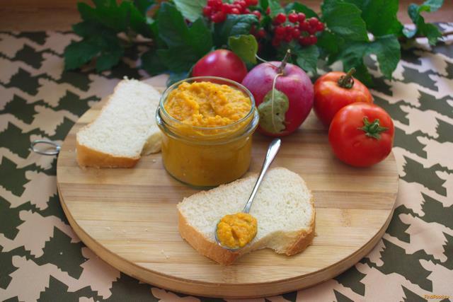 Рецепт Аджика из кабачка и яблок рецепт с фото
