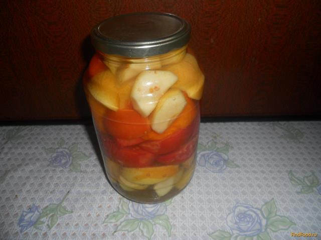 Рецепт Помидоры с яблоками на зиму рецепт с фото