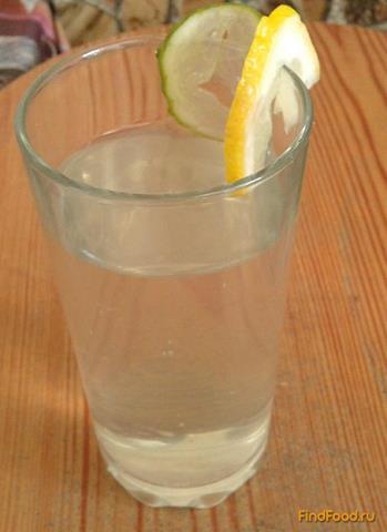 Рецепт Имбирный напиток с огурцом и лимоном рецепт с фото