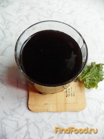 Рецепт Кисель с ежевикой и ревенем рецепт с фото