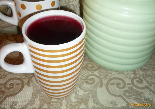 Рецепт Компот из смородины с медом рецепт с фото