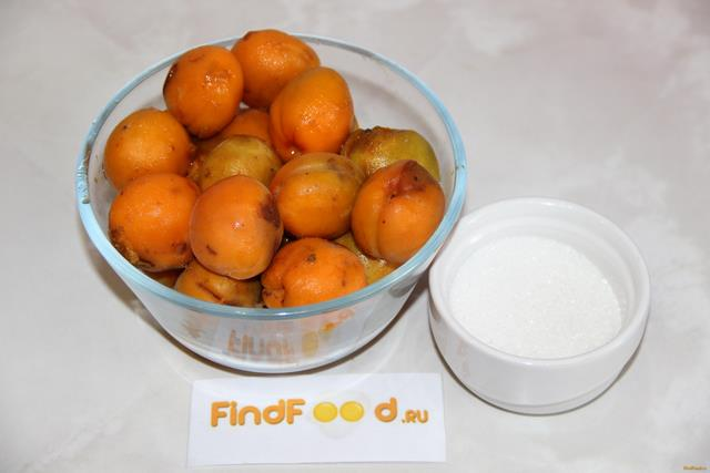 рецепт приготовления компота из абрикосов