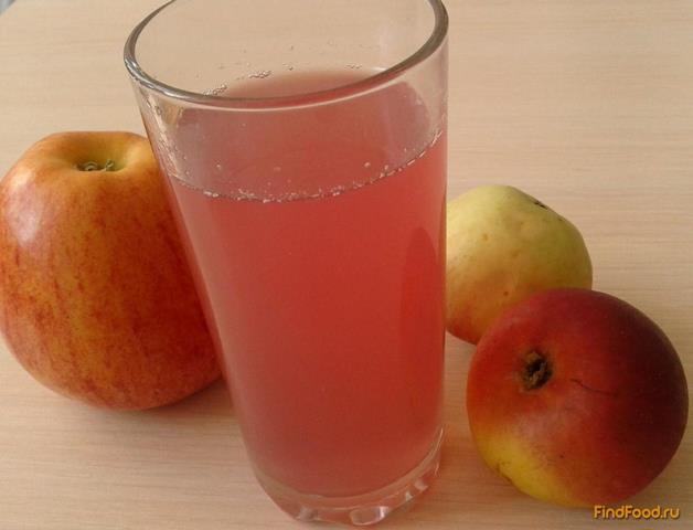 Рецепт Яблочный компот с черной смородиной рецепт с фото