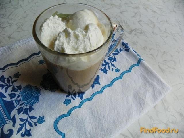 Рецепт Кофе Глясе с мороженым и молоком рецепт с фото