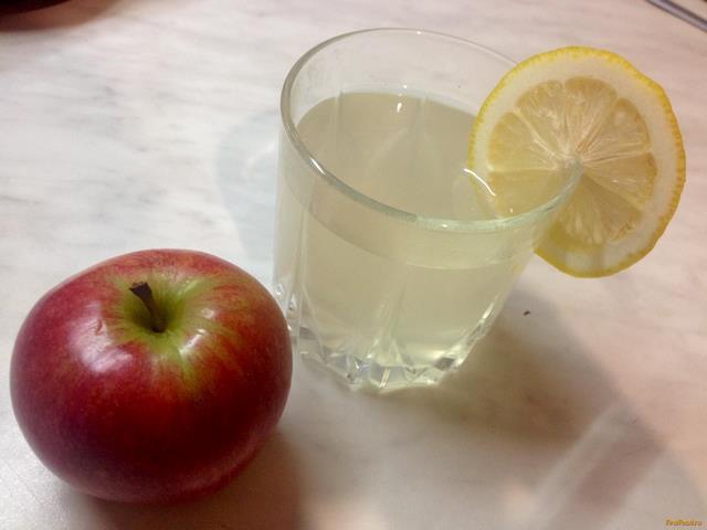 Рецепт Компот из яблок и груш с лимоном рецепт с фото