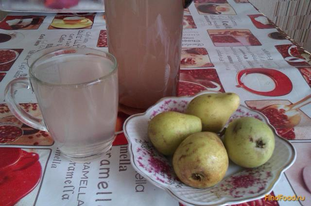 Грушевый компот - Пошаговый рецепт с фото | Напитки