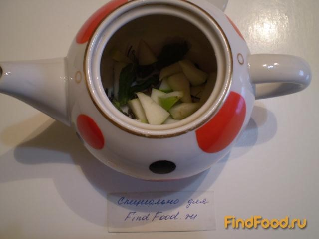 зеленый чай с яблоком для похудения
