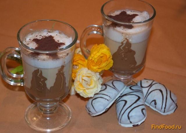 Рецепт Кофейный напиток с шоколадом рецепт с фото