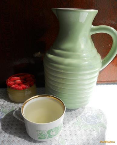 Рецепт Компот из ревеня с медом рецепт с фото