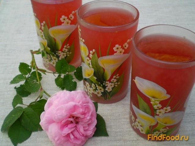 Рецепт Клубнично-чайный напиток рецепт с фото