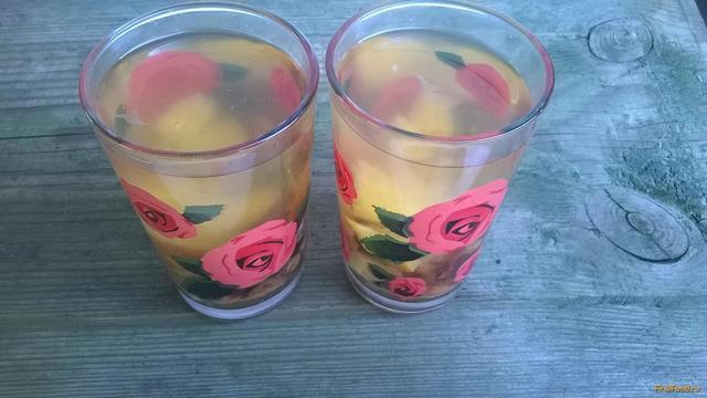 Рецепт Компот из сухофруктов и лимона рецепт с фото