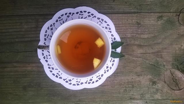 Рецепт Чай с мелиссой и персиком рецепт с фото