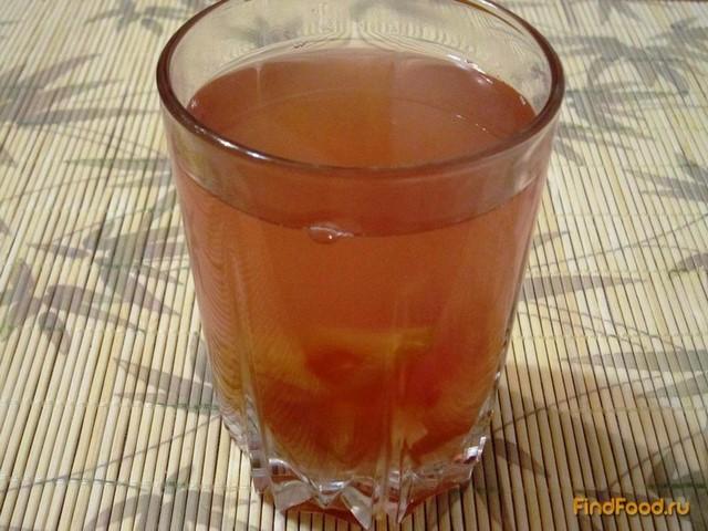 Рецепт Компот из слив с лимоном и изюмом рецепт с фото