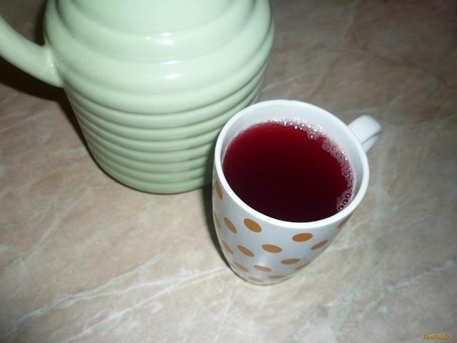 Рецепт Вишнево-яблочный компот из заготовок рецепт с фото