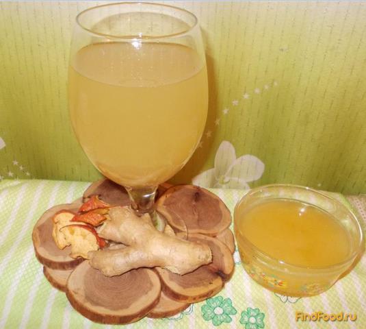 Рецепт Имбирный горячий лимонад рецепт с фото