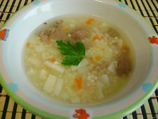 рыбный суп для ребенка 1 год с пшеном