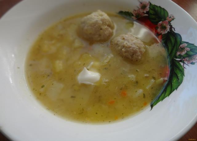 Рецепт Гороховый суп с фрикадельками рецепт с фото