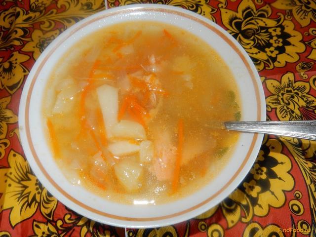 Рецепт Картофельный суп с консервированной семгой рецепт с фото