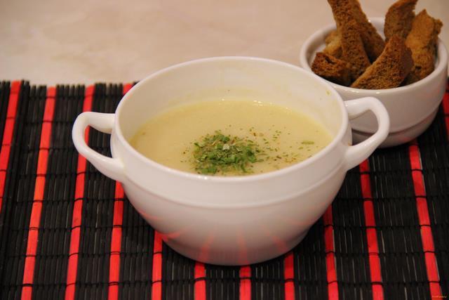 Рецепт Картофельный суп-пюре рецепт с фото