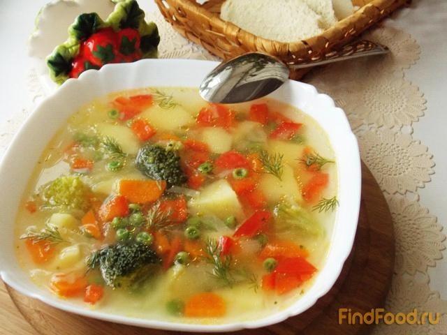 овощной суп с брокколи рецепт в мультиварке