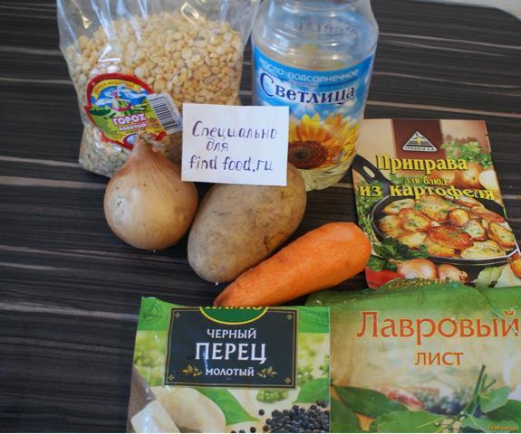 гренки для горохового супа рецепт с фото