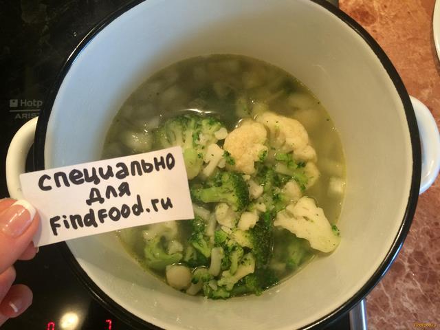 Суп из замороженной цветной капусты рецепты