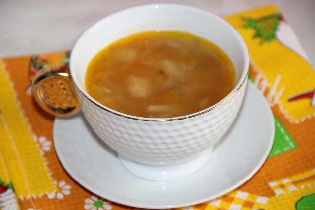 Рецепт Суп с консервированной горбушей рецепт с фото