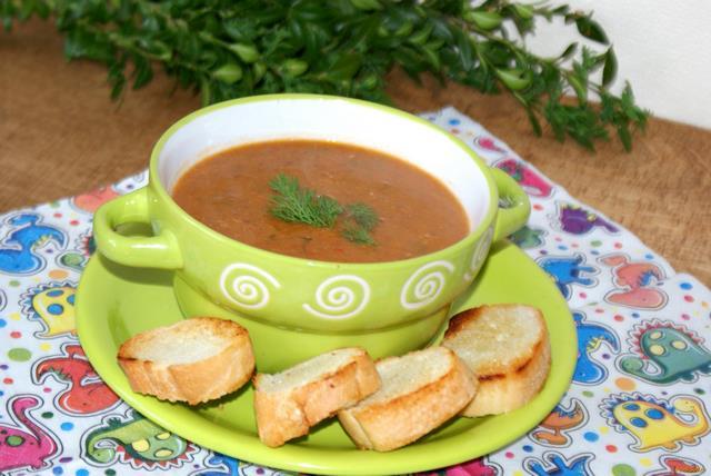 Рецепт Фасолевый суп-пюре рецепт с фото