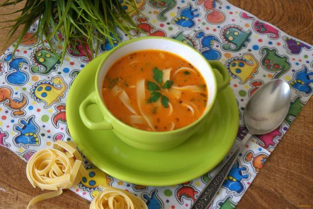 Рецепт Куриный суп в итальянском стиле рецепт с фото