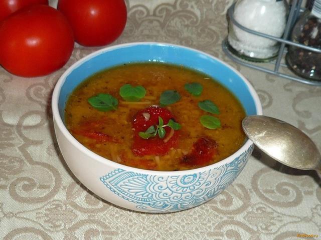 Томатный суп с лапшой рецепт с пошагово в