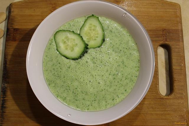огуречный суп рецепт с фото