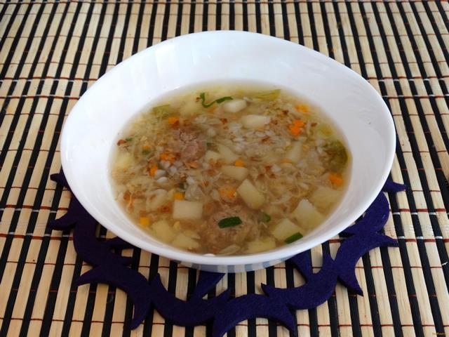 Рецепт Гречневый суп с молодой капустой рецепт с фото