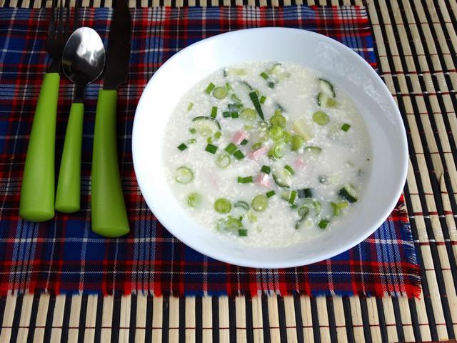 Рецепт Окрошка на газированной воде рецепт с фото
