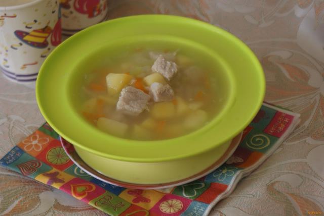 Рецепт Суп на мясном бульоне с рисом и овощами рецепт с фото