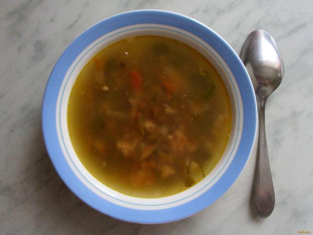 Рецепт Чечевичный суп с курицей рецепт с фото