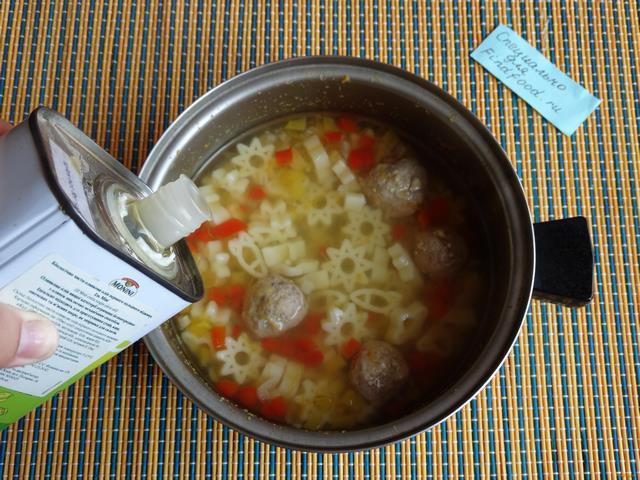 Суп с говяжьими фрикадельками рецепт с фото