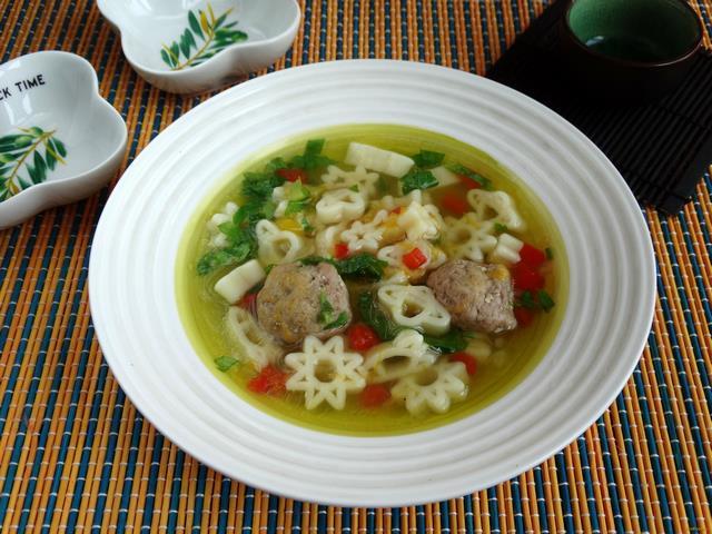 суп с фрикадельками рецепт на говяжьем бульоне