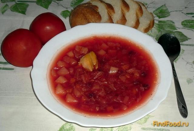 Рецепт Борщ с квашеной капустой и кабачками рецепт с фото