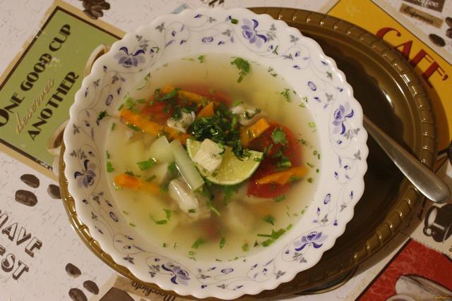 Рецепт Острый рыбный суп рецепт с фото
