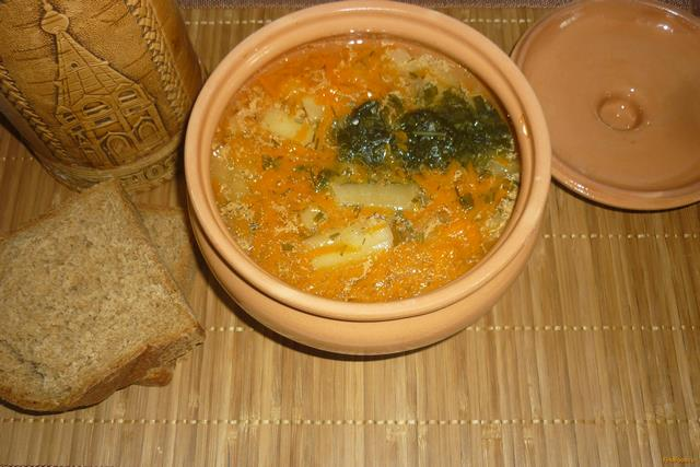 как приготовить суп с курицы в горшочке