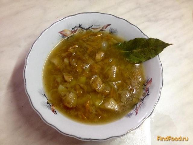 рецепт приготовления супа из белых грибов