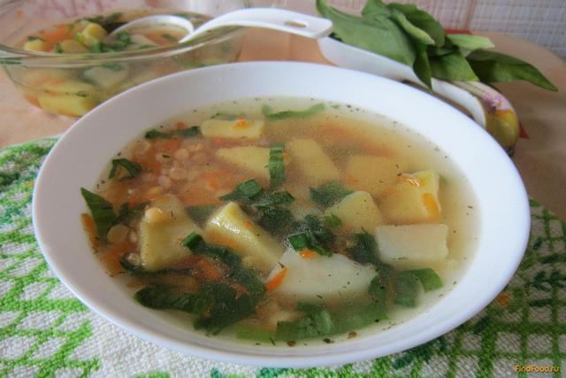Рецепт Гороховый суп с черемшой рецепт с фото