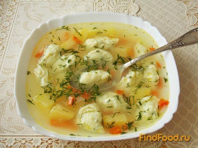 Рецепт заварных галушек для супа