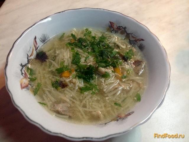 Рецепт Вермишелевый суп рецепт с фото
