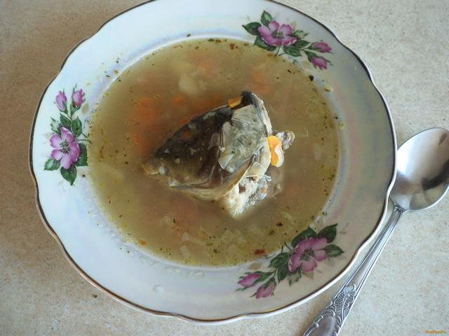 Рецепт Уха из рыбьих голов рецепт с фото